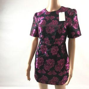 Fashion Union Women's Sheath Floral Mini Dress New